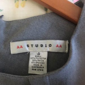 Aa Studio Dresses - AA studio Light grey knee length dress